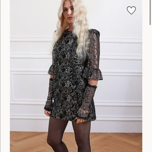 The Vampire's Wife x H&M lace mini dress